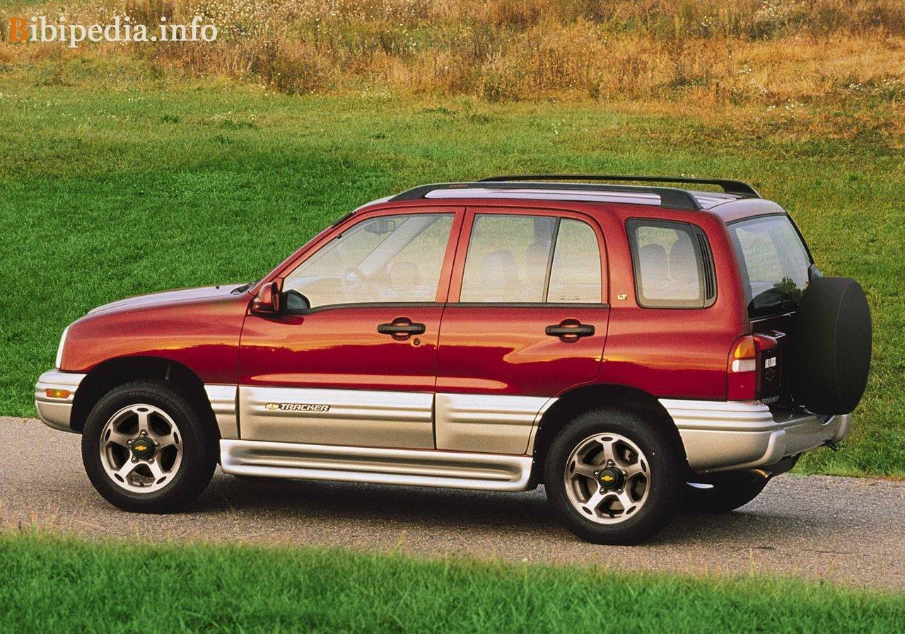 Chevrolet Tracker 1992 foto - 2