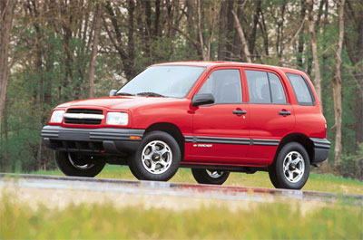 Chevrolet Tracker 2000 foto - 1