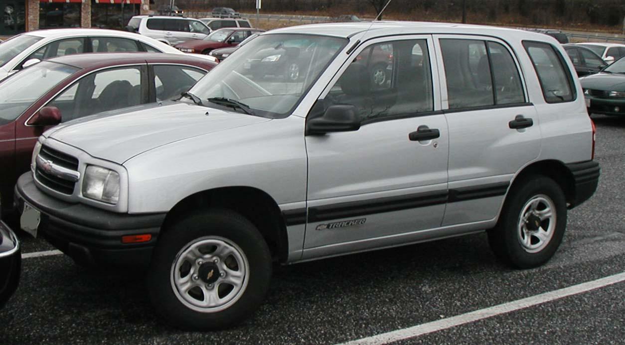 Chevrolet Tracker 2002 foto - 5