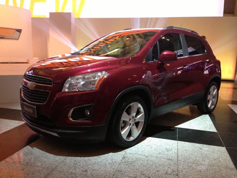 Chevrolet Tracker 2011 foto - 4