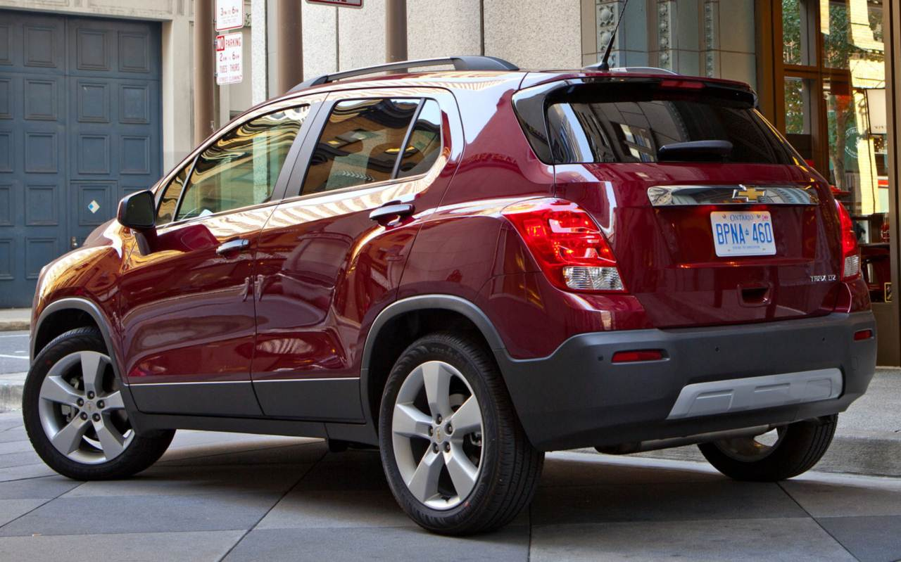 Chevrolet Tracker 2013 foto - 4