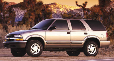 Chevrolet Trailblazer 2001 foto - 5