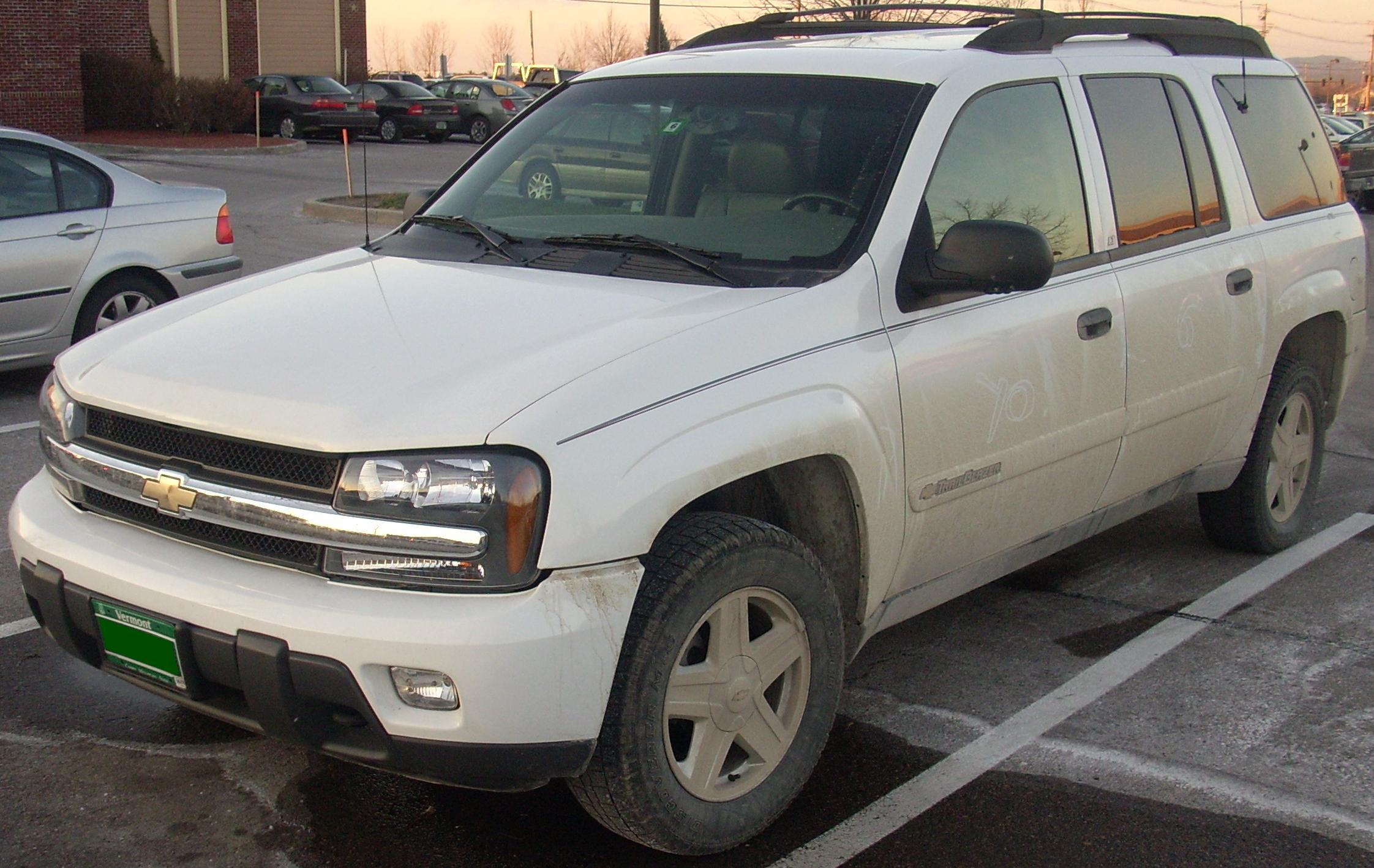 Chevrolet Trailblazer 2002 foto - 1