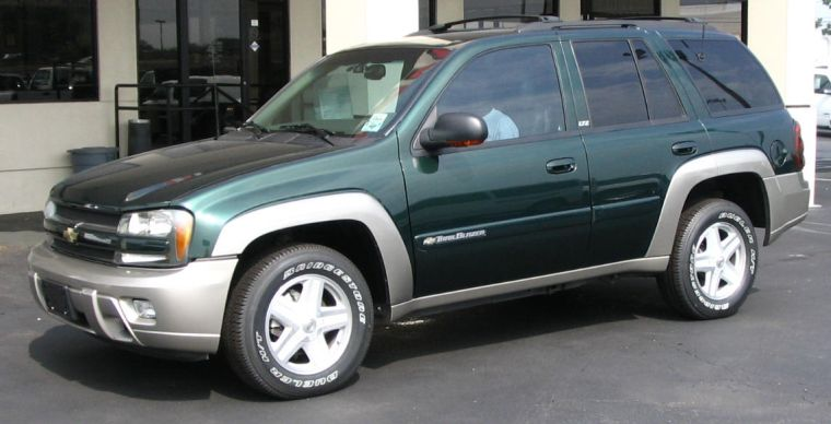 Chevrolet Trailblazer 2002 foto - 3