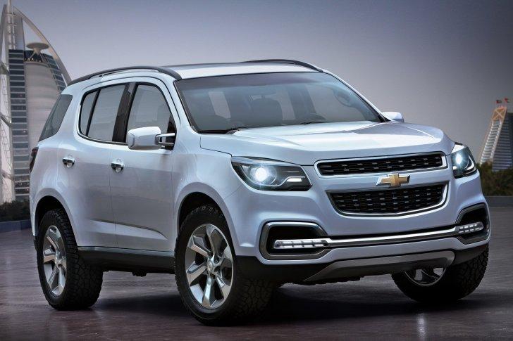 Chevrolet Trailblazer 2011 foto - 1