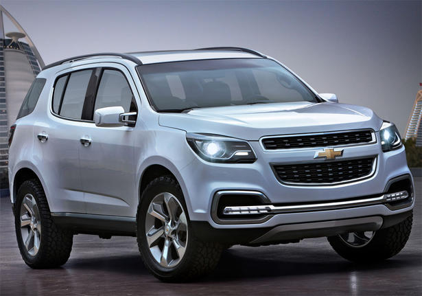 Chevrolet Trailblazer 2012 foto - 1