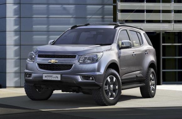 Chevrolet Trailblazer 2013 foto - 2