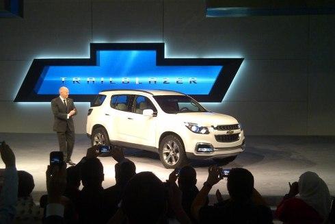 Chevrolet Trailblazer 2014 foto - 2