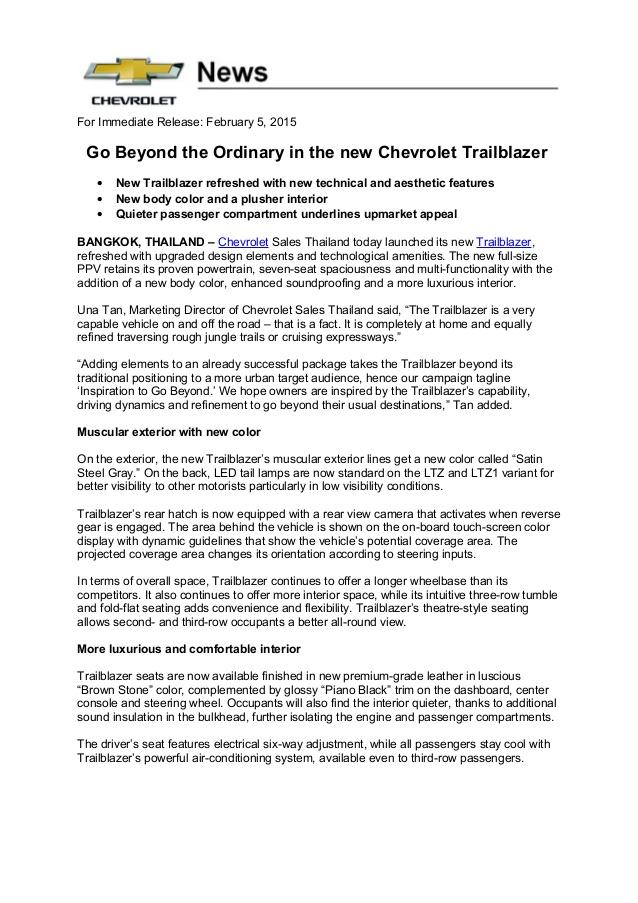 Chevrolet Trailblazer 2015 foto - 5