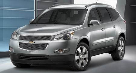Chevrolet Traverse 2008 foto - 4