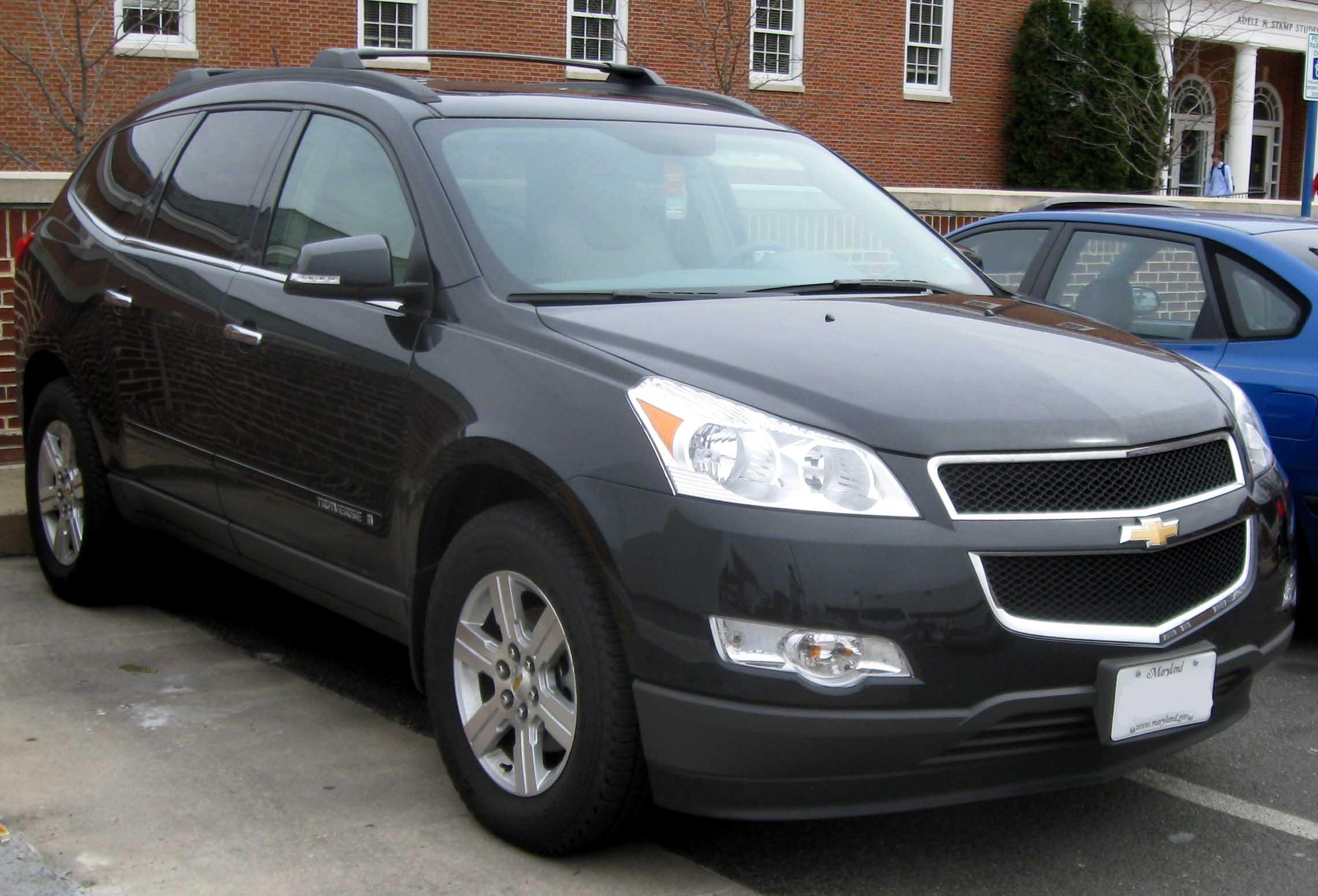 Chevrolet Traverse 2009 foto - 4