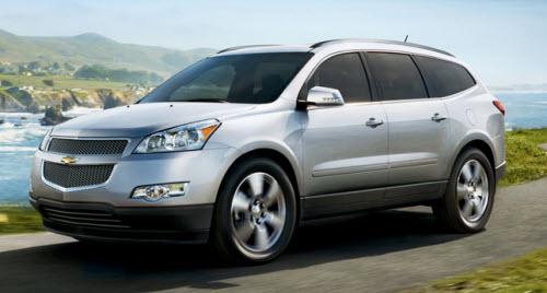 Chevrolet Traverse 2011 foto - 3