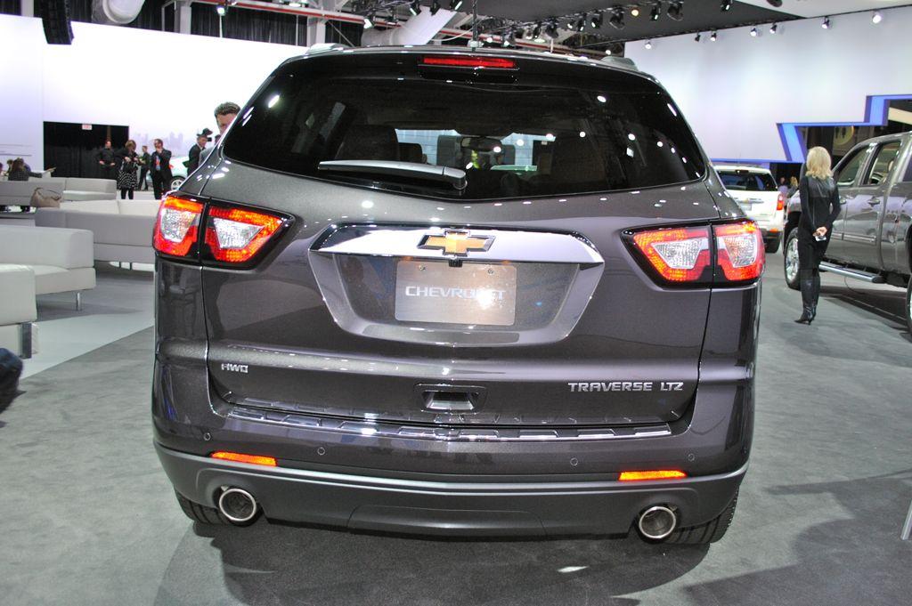 Chevrolet Traverse 2012 foto - 4