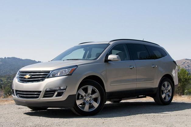 Chevrolet Traverse 2014 foto - 2