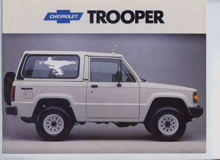 Chevrolet Trooper 1992 foto - 1