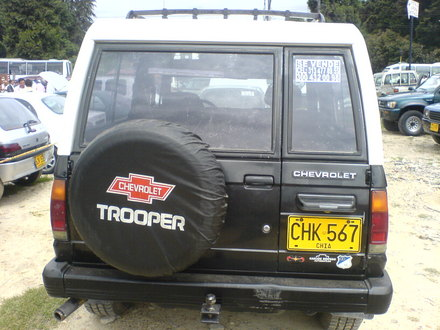 Chevrolet Trooper 1992 foto - 4