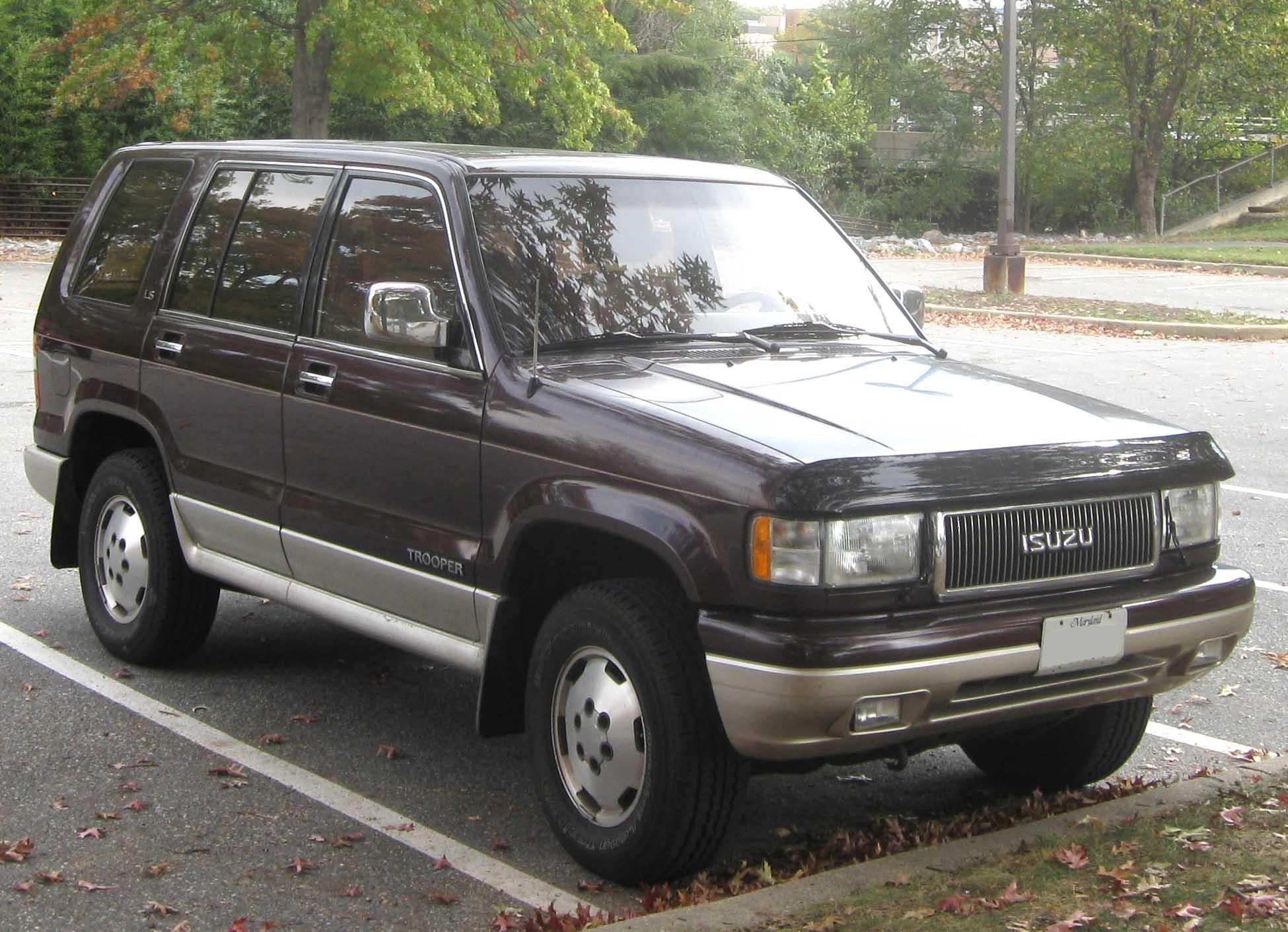 Chevrolet Trooper 1995 foto - 1