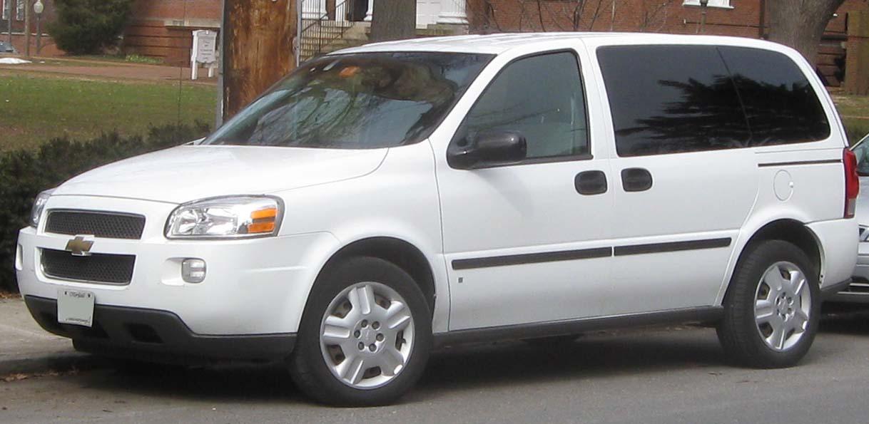 Chevrolet Uplander 2009 foto - 1