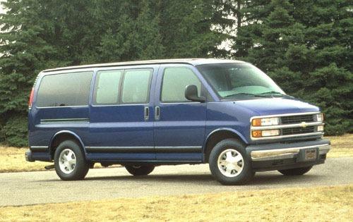 Chevrolet Van 1996 foto - 2