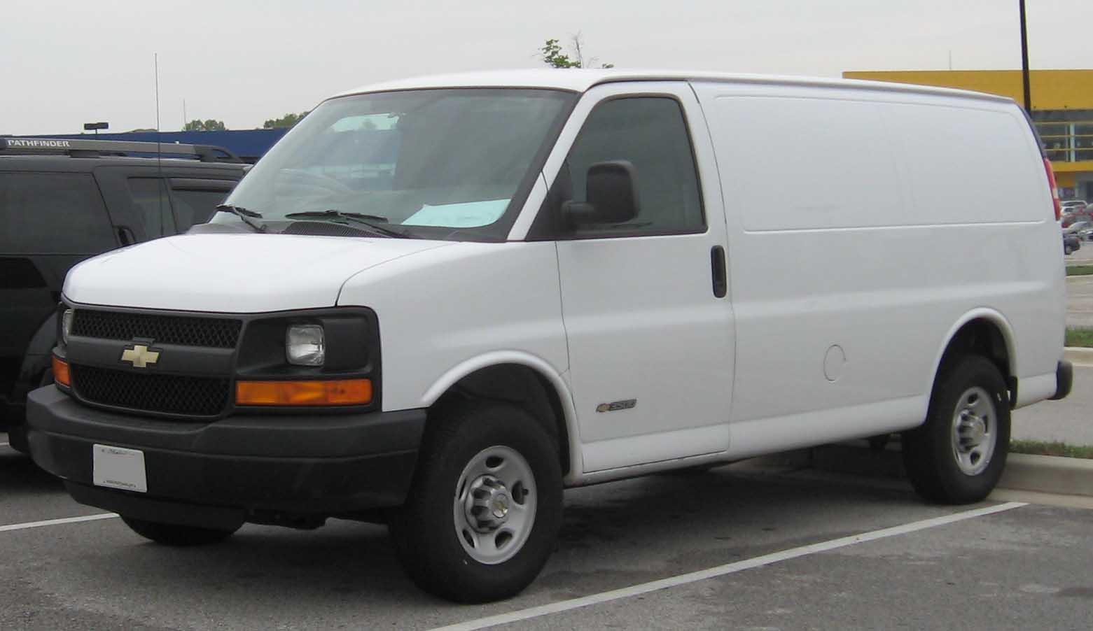 Chevrolet Van 2002 foto - 1