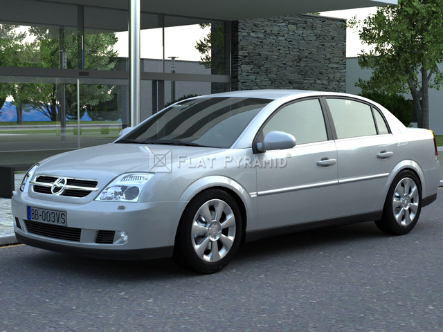 Chevrolet Vectra 2003 foto - 1