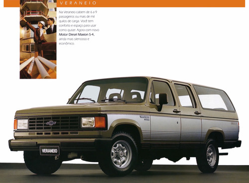 Chevrolet Veraneio 1992 foto - 3