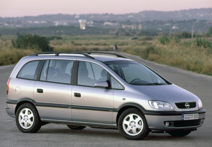 Chevrolet Zafira 2000 foto - 1