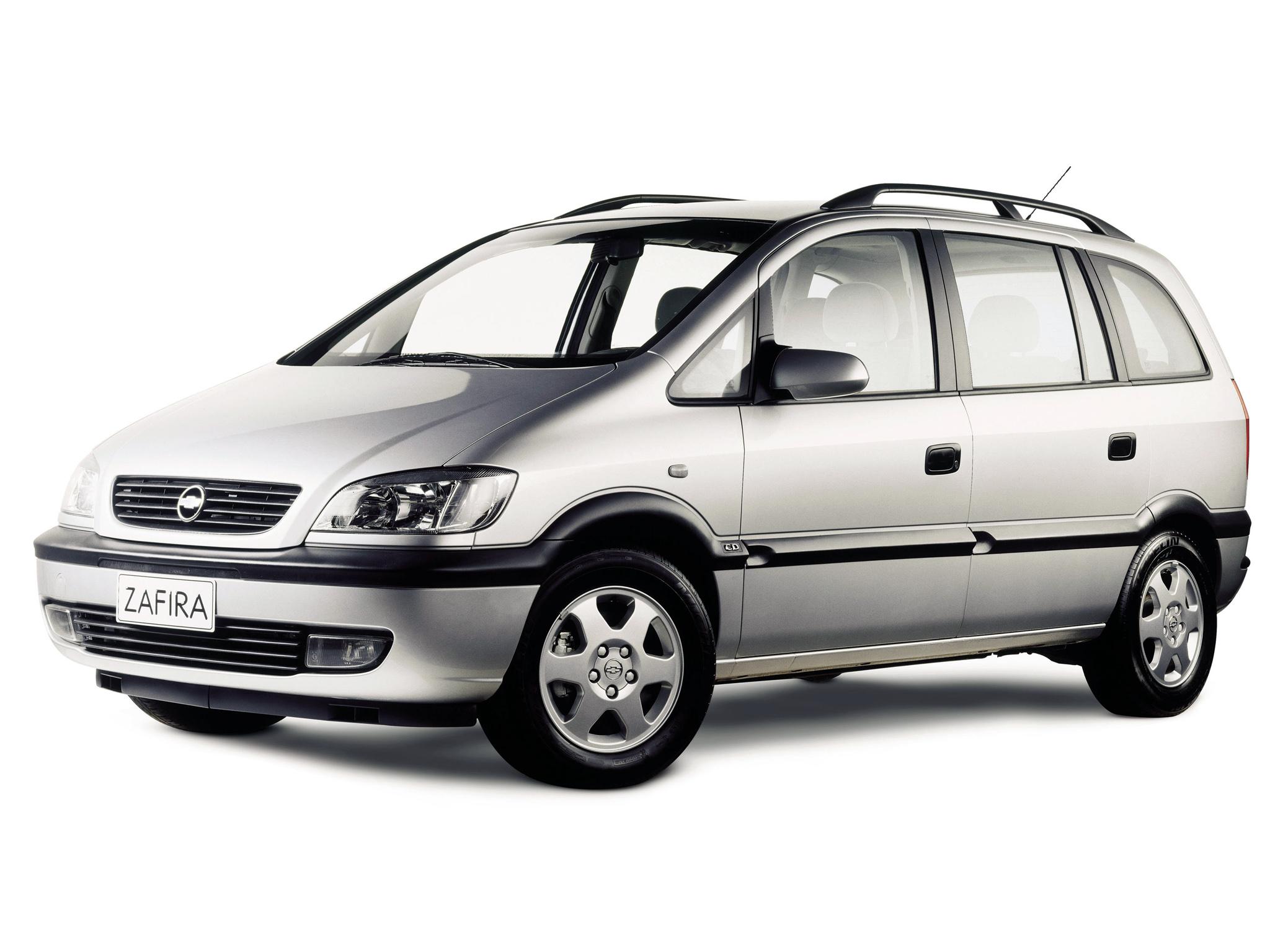Chevrolet Zafira 2001 foto - 2