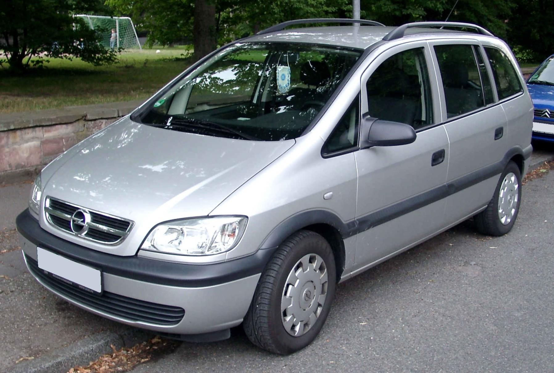 Chevrolet Zafira 2001 foto - 5