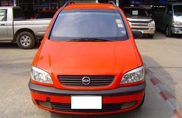 Chevrolet Zafira 2004 foto - 4