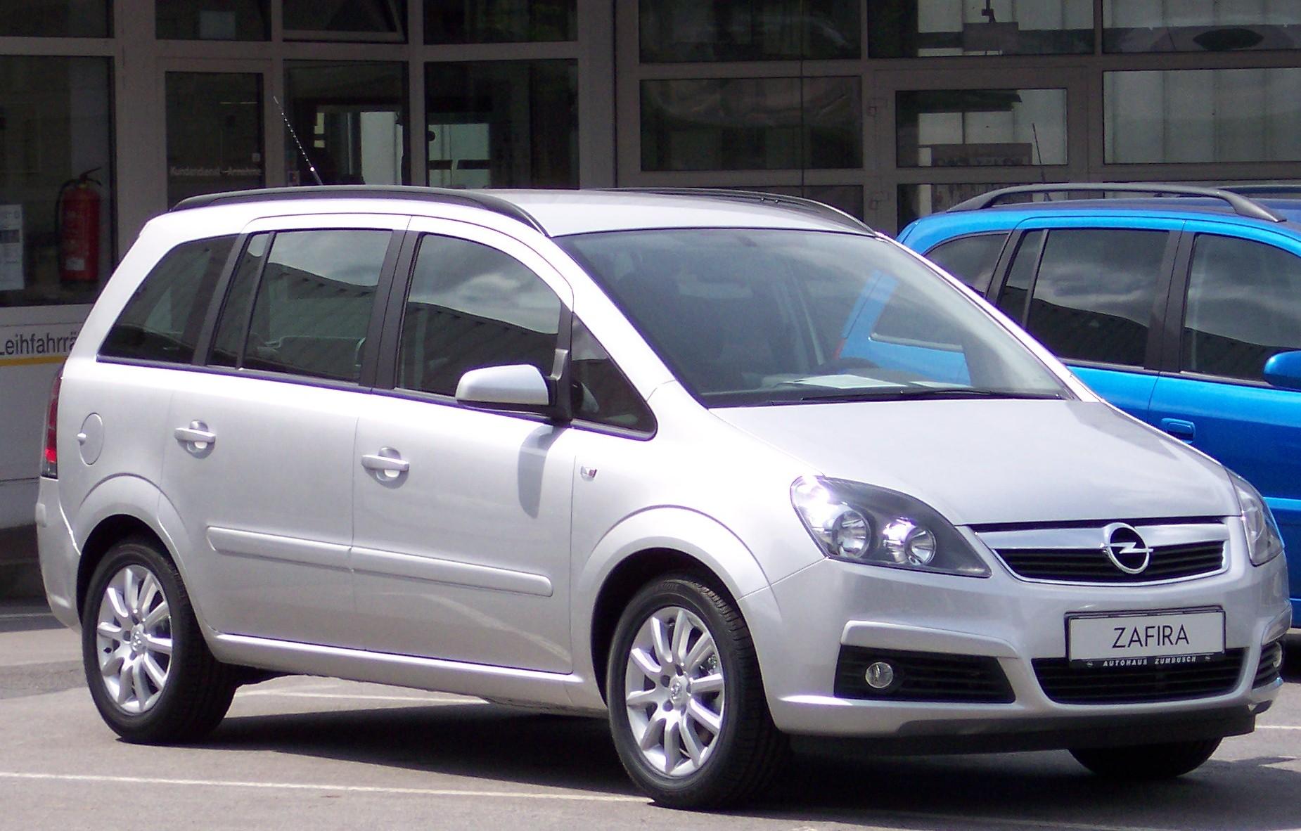 Chevrolet Zafira 2005 foto - 1