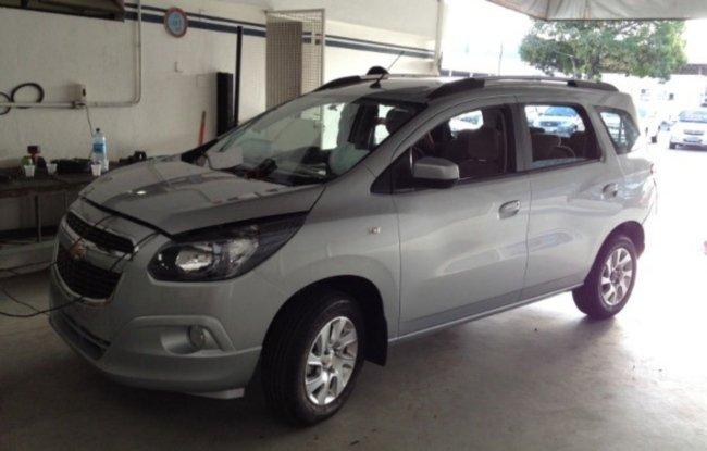 Chevrolet Zafira 2013 foto - 1