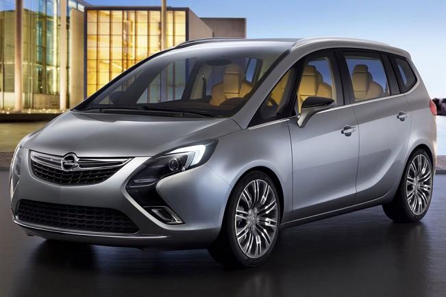 Chevrolet Zafira 2014 foto - 3