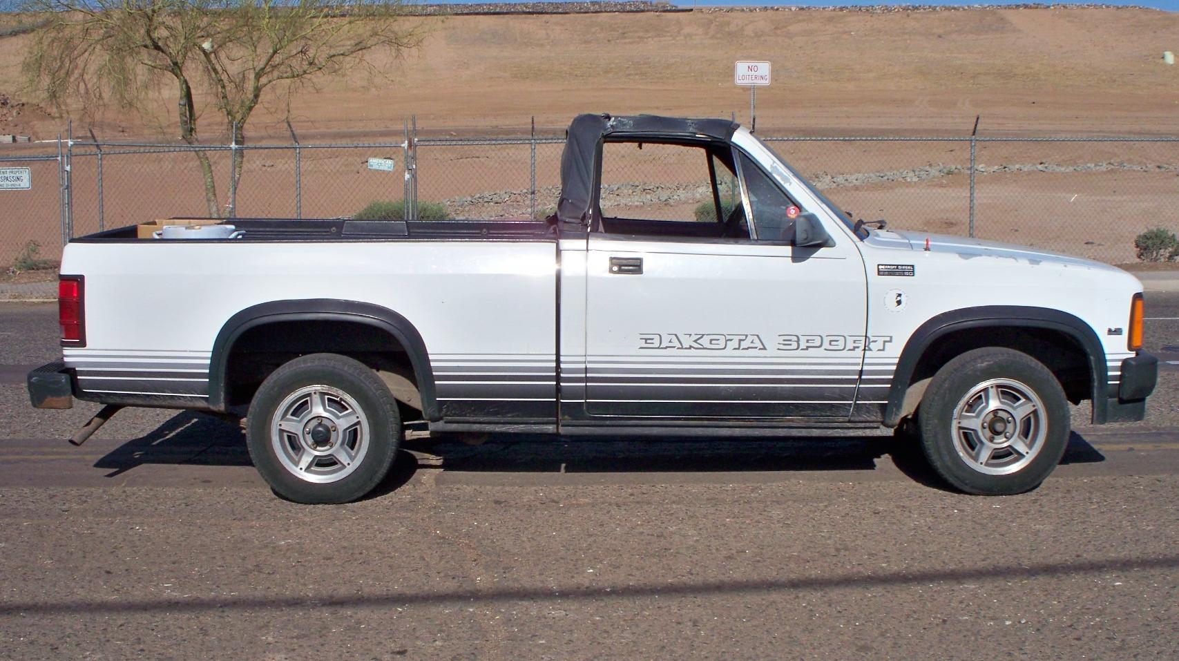 Dodge Dakota 1989 foto - 1
