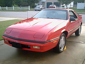 Dodge Daytona 1985 foto - 3