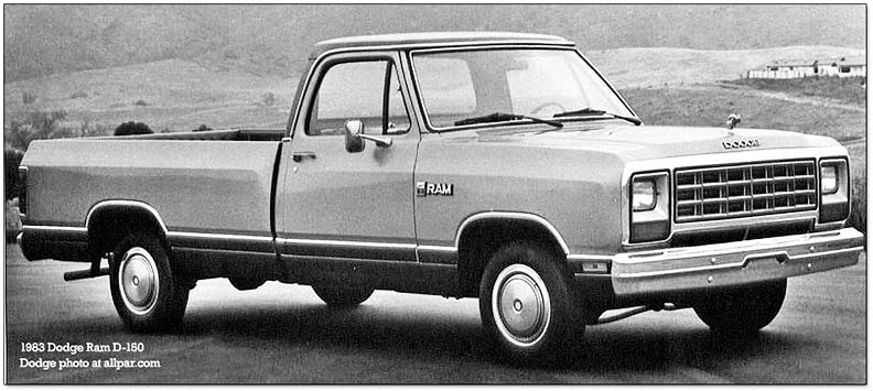 Dodge Ram 1983 foto - 5