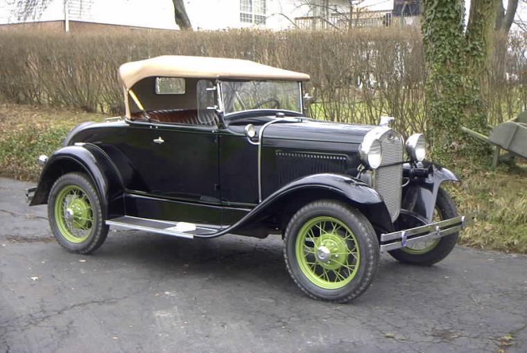 Ford A 1928 foto - 3