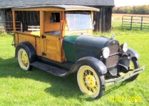 Ford A 1929 foto - 3