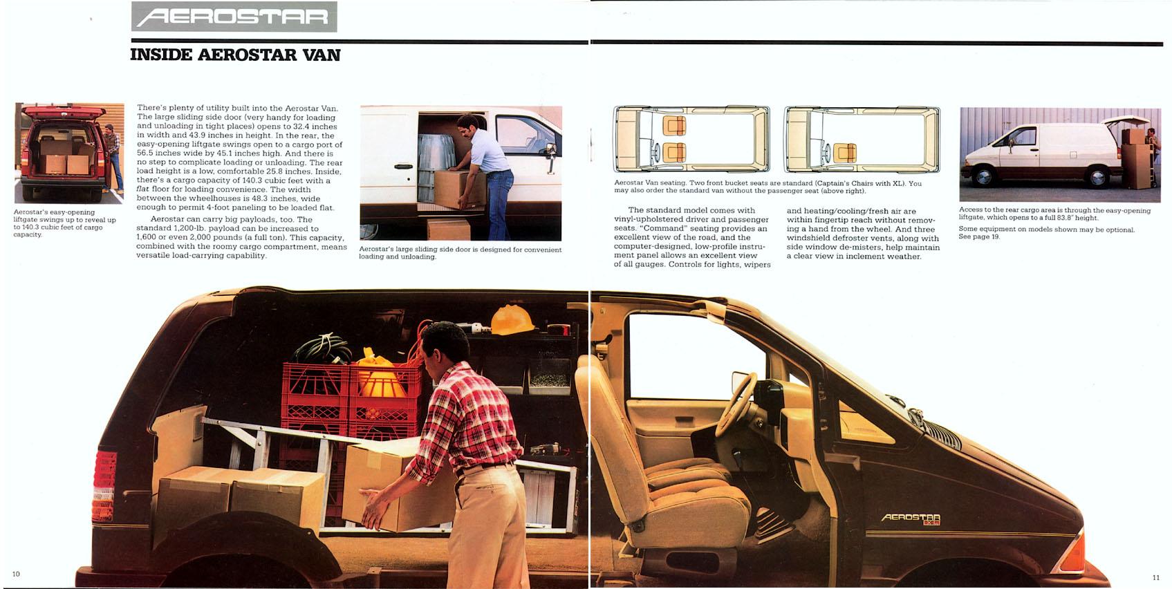 Ford Aerostar 1986 foto - 2