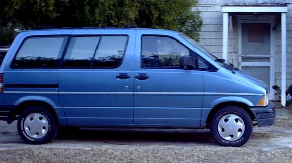 Ford Aerostar 1992 foto - 2