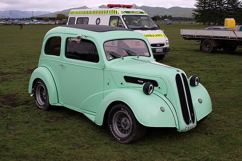 Ford Anglia 1946 foto - 2