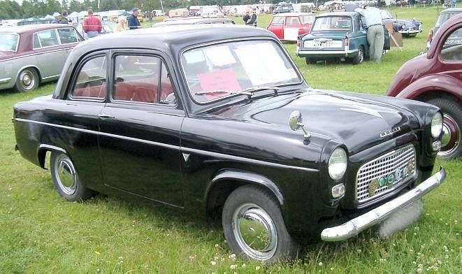 Ford Anglia 1947 foto - 2