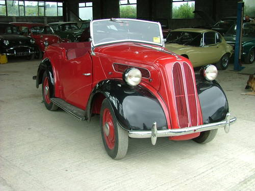 Ford Anglia 1947 foto - 3