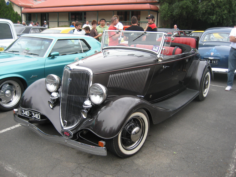 Ford B 1934 foto - 2