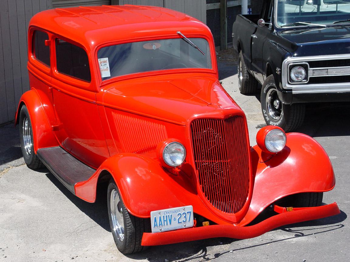 Ford B 1934 foto - 3