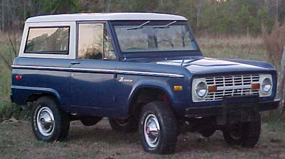 Ford Bronco 1965 foto - 1