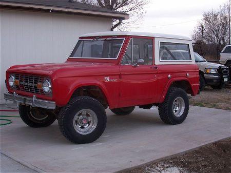 Ford Bronco 1969 foto - 1