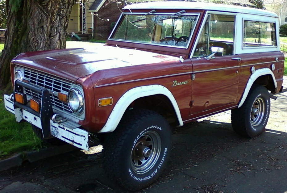 Ford Bronco 1972 foto - 2