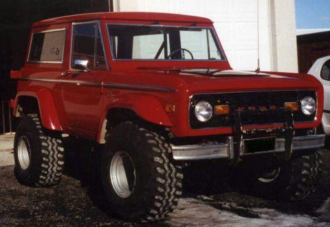 Ford Bronco 1972 foto - 3