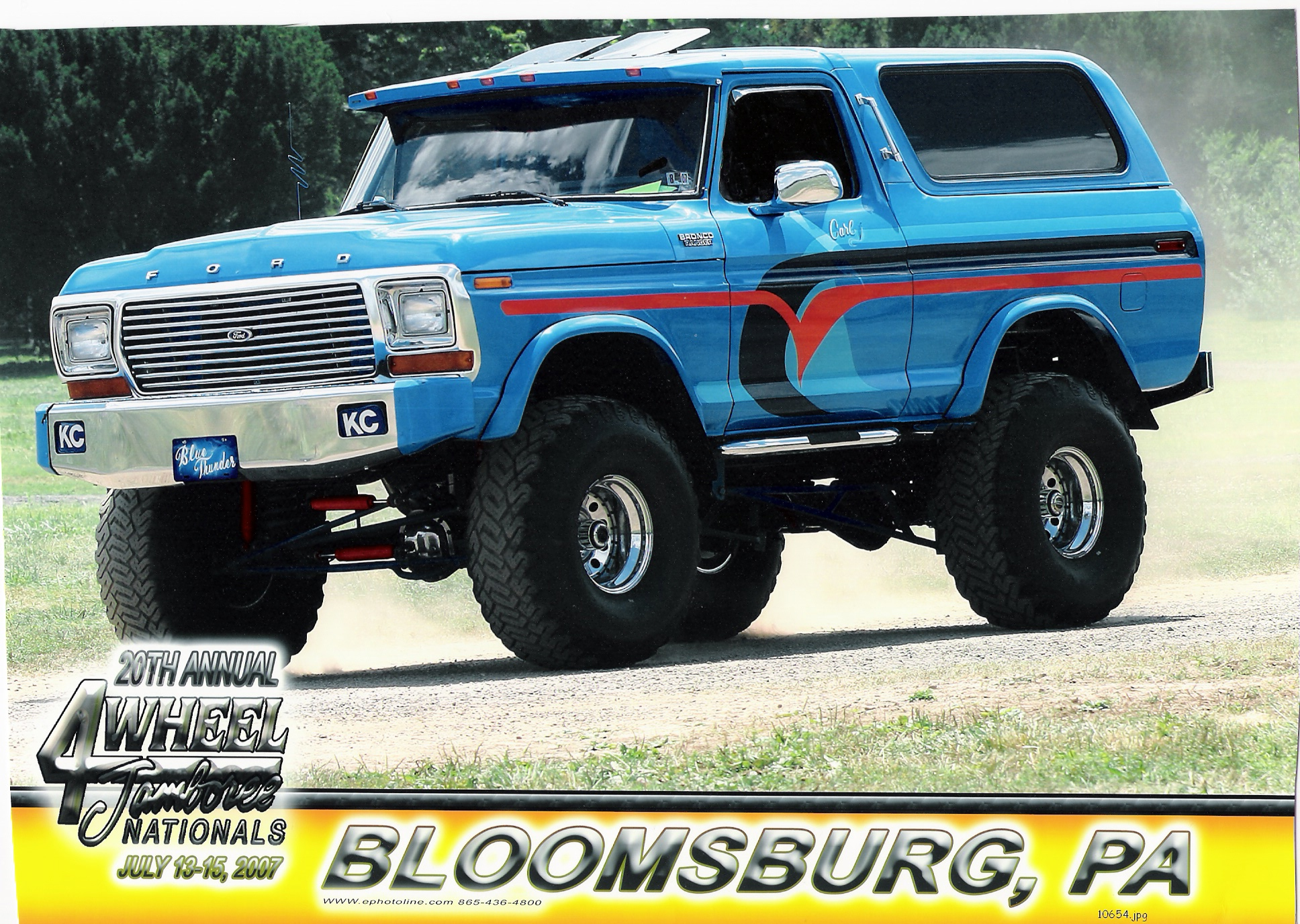 Ford Bronco 1972 foto - 5